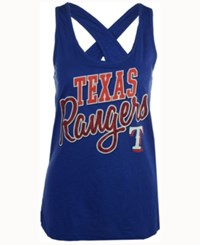 G3 Sports Women's Texas Rangers On Base Tank Royalblue