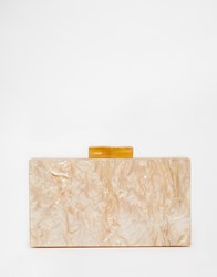 Asos Marble Box Clutch Bag Pink