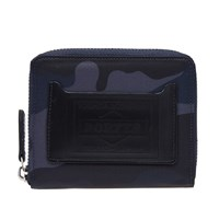 Porter Yoshida And Co. Camo Zip Wallet Blue