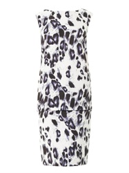 Camilla And Marc Primary Key Leopard Print Dress
