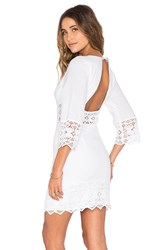 Nightcap Tulum Cutout Dress White