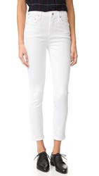 Citizens Of Humanity Rocket Sculpt Crop Jeans White