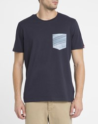 Element Blue Sunny Chest Pocket T Shirt