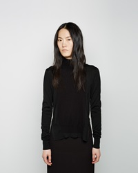 Marni Color Block Mockneck Forest Night