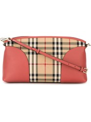 Burberry 'Sm Chichester' Clutch Pink And Purple