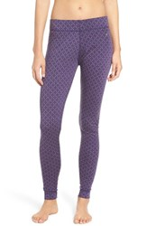 Smartwool Women's 'Nts Mid 250' Merino Wool Leggings Mountain Purple Heather