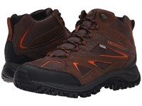 Merrell Phoenix Bluff Mid Waterproof Dark Brown Men's Shoes