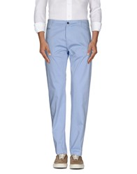 Msgm Trousers Casual Trousers Men Sky Blue