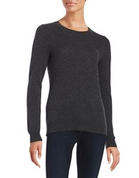 Lord And Taylor Cashmere Sweater Charcoal Heather