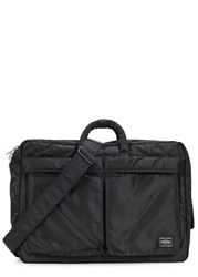 Porter Tanker 3 Way Black Nylon Briefcase