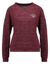Evenandodd Jumper Bordeaux