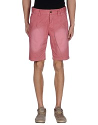 Humor Trousers Bermuda Shorts Men Pastel Pink