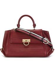 Salvatore Ferragamo 'Sofia' Tote Red