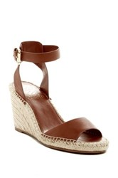 Vince Camuto Tagger Espadrille Wedge Sandal Brown