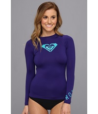 Roxy Whole Hearted L S Surf Shirt Deep Blue Women's Swimwear