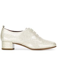 Marc Jacobs 'Betty' Oxford Shoes Metallic