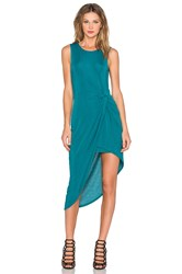 Lovers Friends X Revolve Jenna Wrap Dress Teal
