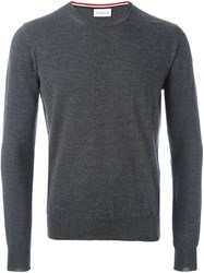 Moncler Classic Knit Sweater Grey