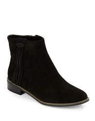 Karl Lagerfeld Sixte Fringe Accented Boots Black