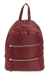 Bp. Nylon Backpack Burgundy