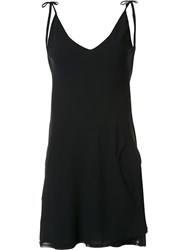 Malia Mills Strappy Beach Dress Black