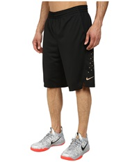 Nike Hyperelite Power Short Black Black Metallic Red Bronze Men's Shorts