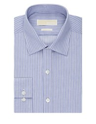 Michael Michael Kors Striped Dress Shirt Purple