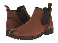 Wolverine Eckins Slip On Brown Leather Men's Pull On Boots