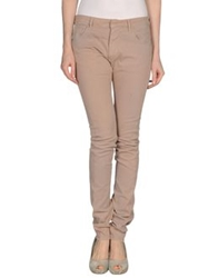 Ring Casual Pants Skin Color
