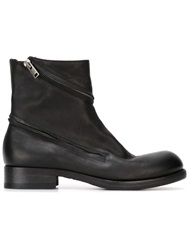 Pantanetti Zipped Ankle Boots Black