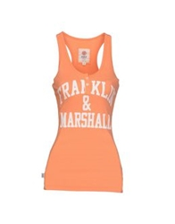 Franklin And Marshall T Shirts Apricot
