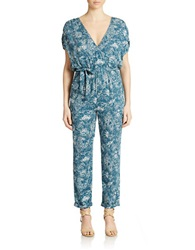 Free People Patterned Jumpsuit Night Combo