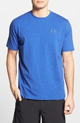 Men's Under Armour 'Sportstyle' Charged Cotton Loose Fit Logo T Shirt Royal Steel