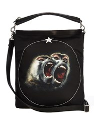 Givenchy Screaming Monkey Nylon Tote