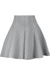 M Missoni Wool Blend Boucle Mini Skirt Stone