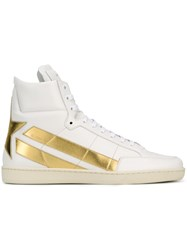 Saint Laurent 'Signature Court Classic Star' Sneakers White