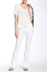 M.I.H Jeans London Straight Jean White