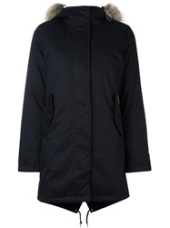 Woolrich 'Tiffany' Parka Coat Black