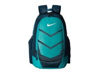 Nike Vapor Speed Backpack Midnight Turquoise Rio Teal Metallic Silver Backpack Bags Blue