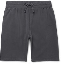 Stussy Stock Loopback Cotton Jersey Shorts Gray