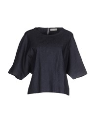 Roberto Collina Shirts Blouses Women Blue