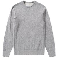 Reigning Champ Tiger Fleece Crew Sweat White