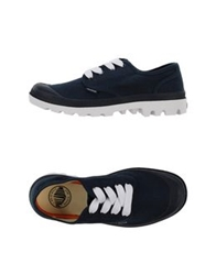 Palladium Low Tops And Trainers Dark Blue
