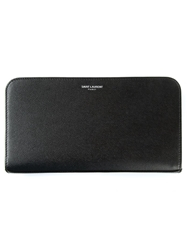 Saint Laurent Classic Continental Wallet Black