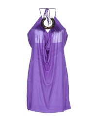 Frankie Morello Topwear Tops Women Purple