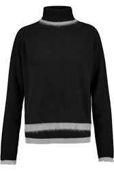 10 Crosby By Derek Lam Cashmere Turtleneck Sweater Black