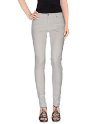 Please Denim Denim Trousers Women Light Grey
