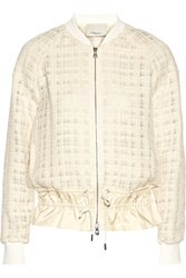 3.1 Phillip Lim Silk Trimmed Tweed Jacket