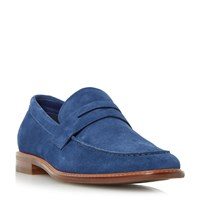 Dune Bates Casual Penny Loafers Navy