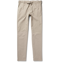 Hartford Regular Fit Cotton Trousers Neutrals
